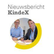 Willibrordus en KindeX ondertekenen huurcontract