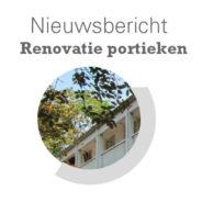 Renovatie portieken