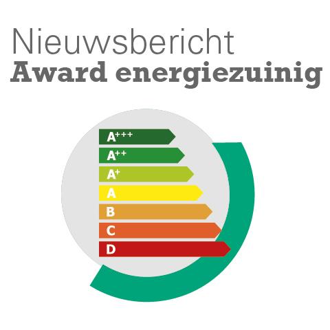 Award voor energiezuinige woningvoorraad