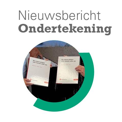 Ondertekening samenwerkingsovereenkomst verduurzaming
